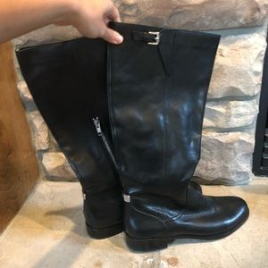 Coach Riding Boots Black